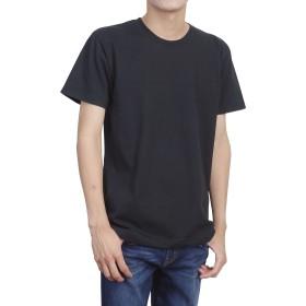 ティーシャツドットエスティー Tシャツ 半袖 無地 厚手 スーパーヘビーウェイト 7.1oz メンズ ブラック M