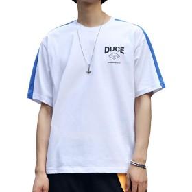 Tシャツメンズ 服 メンズ 夏メンズ tシャツ 半袖 男性 tシャツ tシャツ メンズ 五分袖 Tシャツ 七分袖 メンズtシャツ半袖 绵100% tシャツ夏服 メンズ 半袖 吸汗速乾 汗染み防止 カットソー Tシャツ 夏季対応 X1107 (ホワイト, XXL)