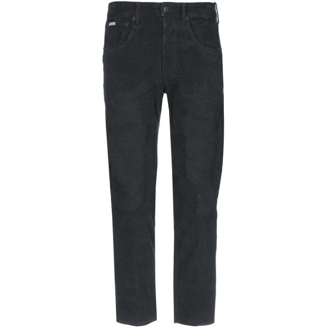 《期間限定 セール開催中》(+) PEOPLE メンズ パンツ ブラック 30 コットン 99% / ポリウレタン 1%