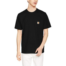 [カーハート] S/S POCKET T-SHIRT S/S POCKET T-SHIRT I022091-19S Black EU M (日本サイズM相当)