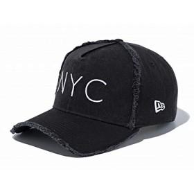 ニューエラ 9FORTY A-Frame ダメージド NYC 11557378 ブラック Damaged black