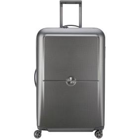 DELSEY デルセー TURENNE スーツケース キャリーバッグ キャリーケース 100% PC 超軽量 大容量 TSAロック搭載 5年国際保証付 (シルバー/94L)