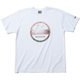 (ニューエラ) NEW ERA Tシャツ BALL BASKETBALL VISOR STICKER ホワイト M