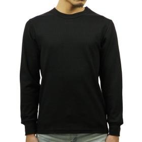 [ロスコ] ROTHCO 正規品 メンズ 長袖Tシャツ Black Thermal Knit Tops 63632 M (コード:4109619813-3)