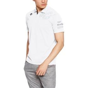 [デサント] トレーニング タフポロライト COOL ポロシャツ MOVESPORTS DMMLJA71 WHT M