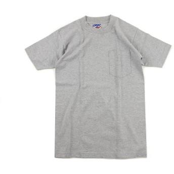 ベイサイド BAYSIDE 半袖Tシャツ ユニオンメイド ポケット TEE 米国製 ダークアッシュ M