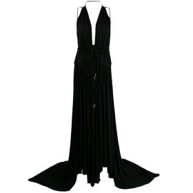 Dsquared2 Light Crepe ロングドレス - ブラック