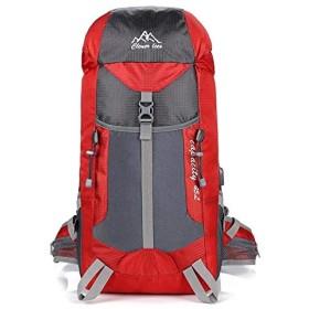 屋外登山バッグ大容量ハイキング充電ショルダーキャンプ防水キャンプ旅行バックパック