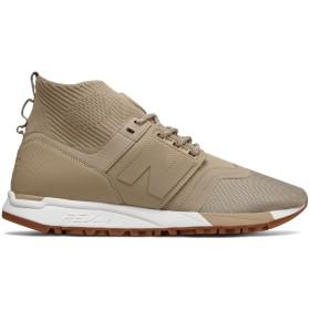 (ニューバランス) New Balance 靴・シューズ メンズライフスタイル 247 Mid Beige ベージュ US 7.5 (25.5cm)
