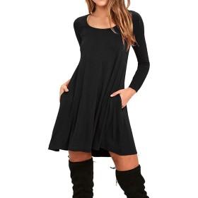WNEEDU DRESS レディース US サイズ: Medium カラー: ブラック