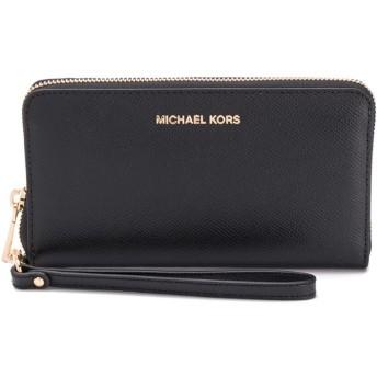 Michael Michael Kors MK ファスナー財布 - ブラック