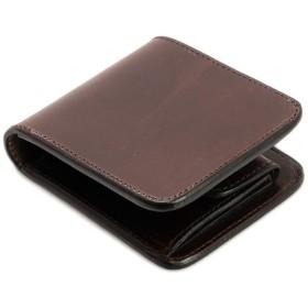 本革二つ折り財布 チョコ (アートブラウン) ARTBROWN