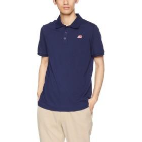 [ニューバランス] ポロシャツ ピケポロシャツ AMT91593 PGM(ピグメント) 日本 L (日本サイズL相当)