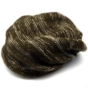 スワンユニオン swanunion ニット帽 冬 メンズ 冬用 大きいサイズ アクリル 防寒 杢 茶 ブラウン 薄茶 ブラウン kami94-va1