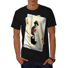 Wellcoda 神秘的 ポーカー カジノ 男性用 ブラック 3XL Tシャツ