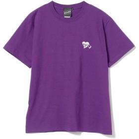 [ビームス] 半袖プリント Tシャツ 【SPECIAL PRICE】 T U Rock Heart Tee メンズ パープル S
