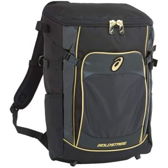 [アシックス] 野球 GOLD STAGE ゴールドステージ バックパック YOUTH 32L ブラック One Size
