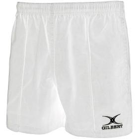 (ギルバート・ラグビー) Gilbert Rugby 子供用 Kiwi Pro ラグビーショーツ ショートパンツ スポーツ トレーニング (5-6歳) (ホワイト)