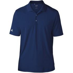 (アディダス) Adidas チームウェア メンズ ライトウェイト ドライ 半袖ポロシャツ ショートスリーブポロ カジュアル スポーツ ゴルフ 夏 定番 (S) (ネイビー)