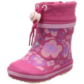 [ムーンスター] レインブーツ ベビー 子供 靴 雨 雪 防寒 WB006R MS ピンク 14 cm 2E