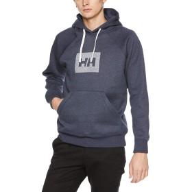 [ヘリーハンセン] HH Logo Sweat Parka HE31865 ミックスヘリーブルー 日本 XL (日本サイズXL相当)