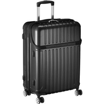 ACTUS アクタス スーツケース ジッパー トップオープン トップス Mサイズ 59L カーボン 74-2032