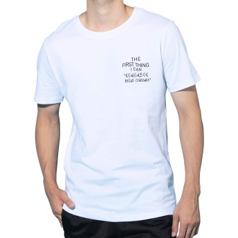 JIGGYS SHOP USAコットン ロゴ Tシャツ メンズ 半袖 クルーネック スリムフィット 25柄 XL Dホワイト