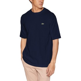[ラコステ] TEE SHIRTS [公式] 成形横編みニットTシャツ メンズ ネイビー 日本 004 (日本サイズL相当)