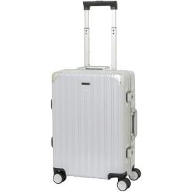 LOJEL BOSS ロジェールボス スーツケース TSAロック搭載 4輪 35L 2日 3日用 LB-0781-49 (ホワイトカーボン)
