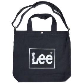 (リー) Lee トートバッグ 軽量 ショルダーバッグ A4 メンズ レディース ロゴ 通勤 通学 マザーズバッグ 斜めがけ おしゃれ かわいい (BKSV)