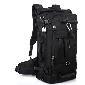 (ヤンガーベビー)Youngerbaby 3wayバッグ バックパック 肩掛けバッグ 手提げバッグ ナイロン 大容量40L 防水性 登山、旅行、野営用 パスワードロック付き
