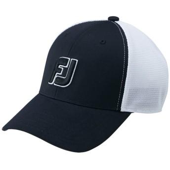 フットジョイ Foot Joy 帽子 メッシュキャップ ブラック フリー