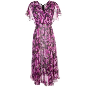 Jason Wu Collection フローラル ロングドレス - ピンク