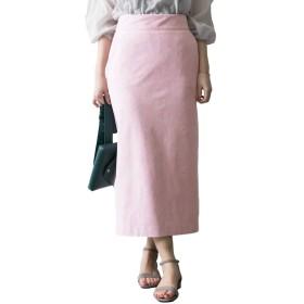 [アーバンリサーチ] スカート フェイクスエードカラーロングスカート レディース LILAC 36
