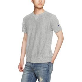[チャンピオン] リバースウィーブ Tシャツ C3-F301 メンズ ミディアムグレー 日本 M (日本サイズM相当)