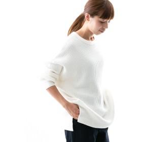 [ワークノットワーク] tシャツ ビッグワッフルチュニック レディース OFF FREE