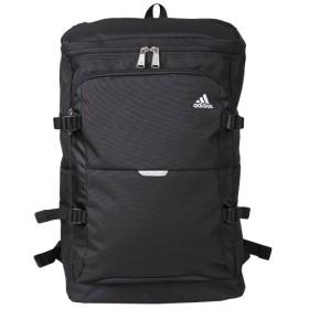 カバンのセレクション アディダス リュック スクエア 大容量 24L A3 adidas 47838 チェストベルト付き スクールバッグ ユニセックス ブラック フリー 【Bag & Luggage SELECTION】