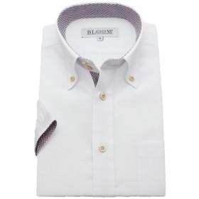 (ブルーム) BLOOM 2018夏 オリジナル 半袖 ワイシャツ クールビズ 形態安定 3 5L