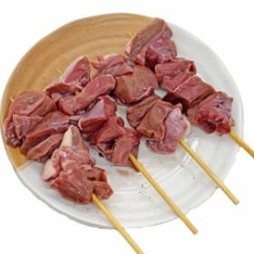 豚ハツ串 40g×10本 国産豚 (15cm丸串)(pr)(45720) 肉 (やきとん)