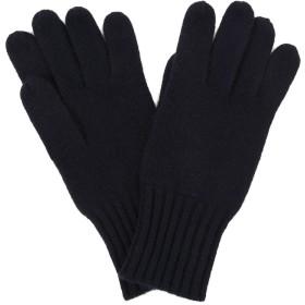 カシミヤ100% メンズ 手袋 NAVY/ネイビー フリーサイズ cas055