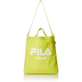 [フィラ] トートバッグ FILA フィラ メンズ レディース 大容量 キャンバス 2WAY 斜めがけ ショルダーバッグ 10色 ライムグリーン F