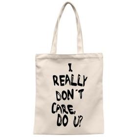RaiFu キャンバストートバッグ 女性 レディース 女の子 おしゃれな スタイリッシュ ハンドバッグ 手提げ 英字 かわいい 大容量 ベージュ