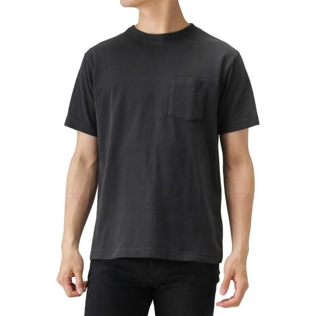 Champion(チャンピオン) プリントTシャツ 半袖Tシャツ クルーネック C3-M349 メンズ ブラック:L