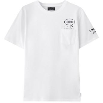 しろまる 天竺バリエーションプリントTシャツ 83281801 メンズ ホワイト103:S