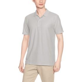 [プリントスター] 半袖 4.9オンス TC 鹿の子 カジュアル ポロシャツ 00193-CP メンズ グレー 4L (日本サイズ4L相当)