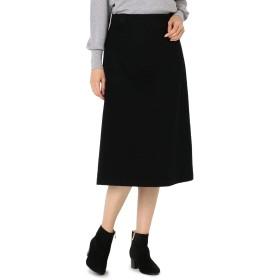 (ノーリーズ ソフィー) NOLLEY'S sophi カシミヤ混トラペーズスカート 8-0030-6-06-010 1 ブラック
