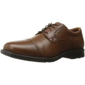 [ロックポート] メンズオックスフォード靴10 d(m) 米国タンアンティークレザー