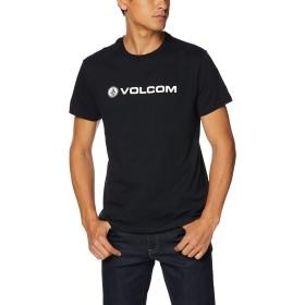 [ボルコム] [メンズ] 半袖 プリント Tシャツ (アジアンFIT)[ AF3219G0 / Apac Logo S/S Tee ] おしゃれ ロゴ BLK_ブラック US L (日本サイズL相当)