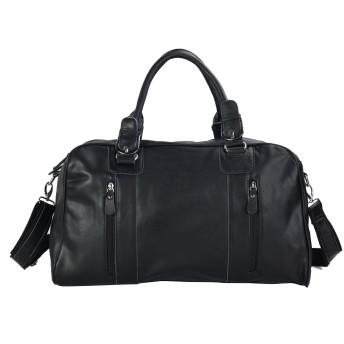 [(チョウギュウ) 潮牛] ボストンバッグ ショルダーバッグ メンズ 本革 2WAY 2泊旅行鞄 ナッパレザー ブラック
