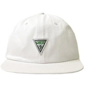 GUESS GREEN LABEL ゲス グリーン レーベル GUESS TRIANGLE CAP / WHITE [MH3A8314J] 2017年AW キャップ 帽子 小物 アクセサリー|Free